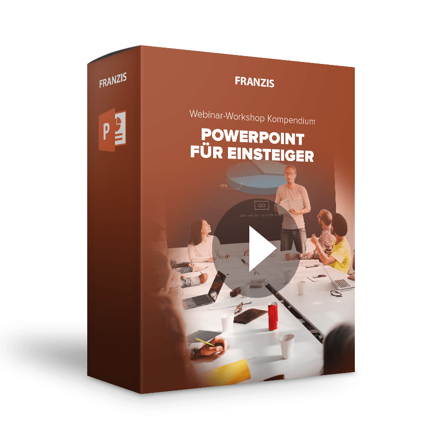Webinar-Workshops: PowerPoint-Video-Kompendium | FRANZIS | www ...