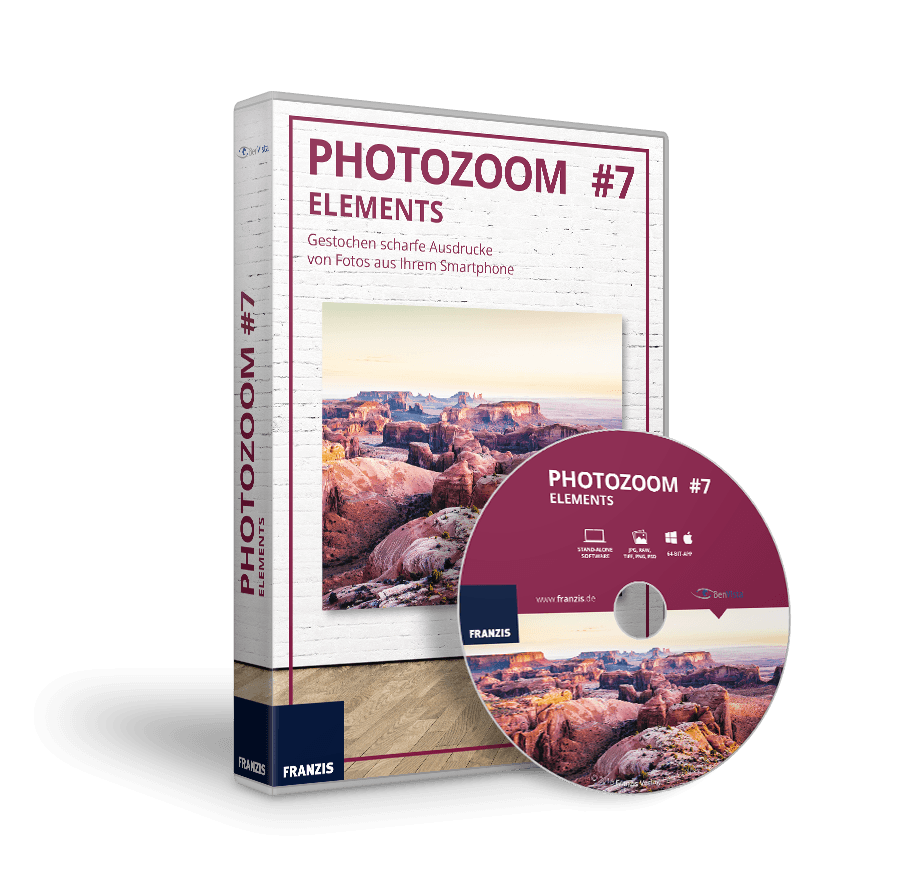 PhotoZoom 7 elements