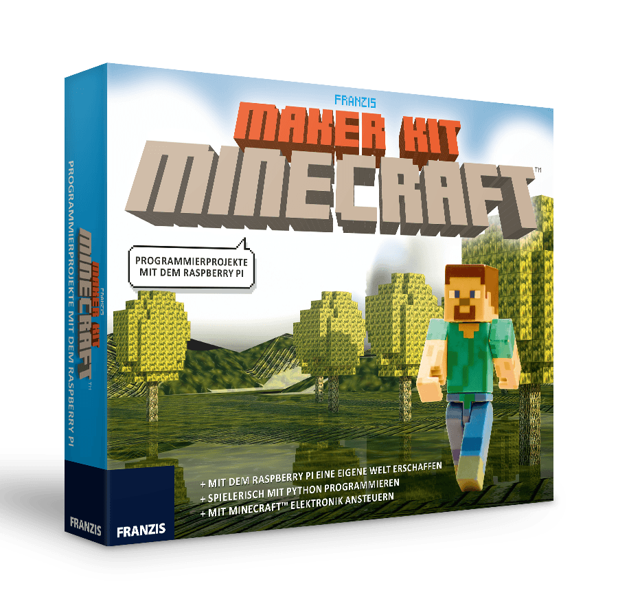 Weihnachtskalender Minecraft.Franzis Maker Kit Minecraft