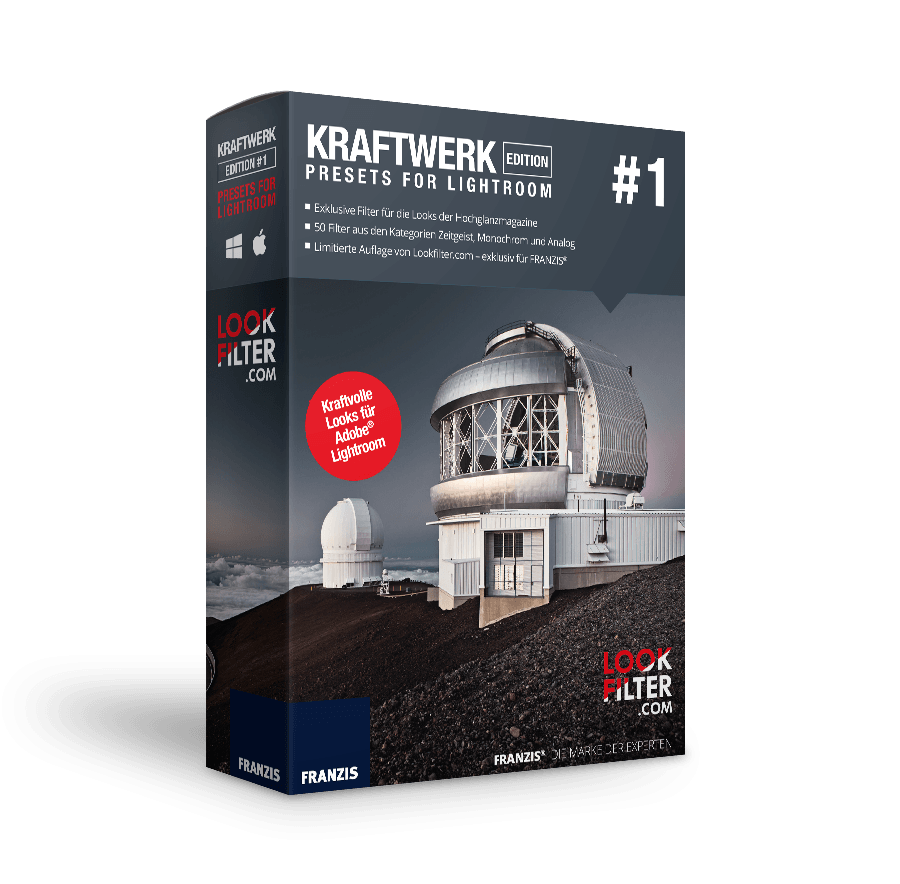 Kraftwerk Edition 1 - Presets for Lightroom