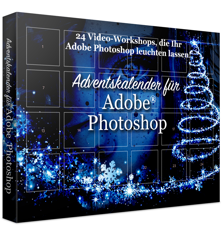 Adventskalender für Adobe Photoshop