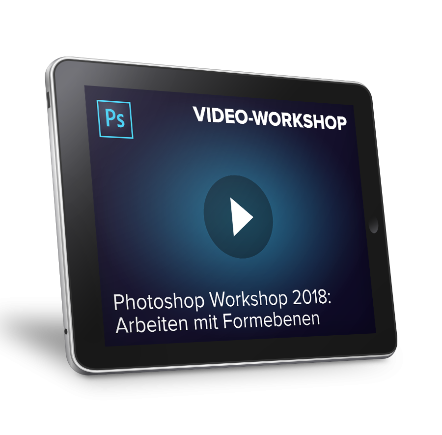 Video-Workshop: Photoshop 2018 - Arbeiten mit F...