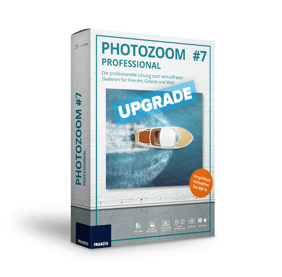 PhotoZoom 7 professional - Upgrade von professi...