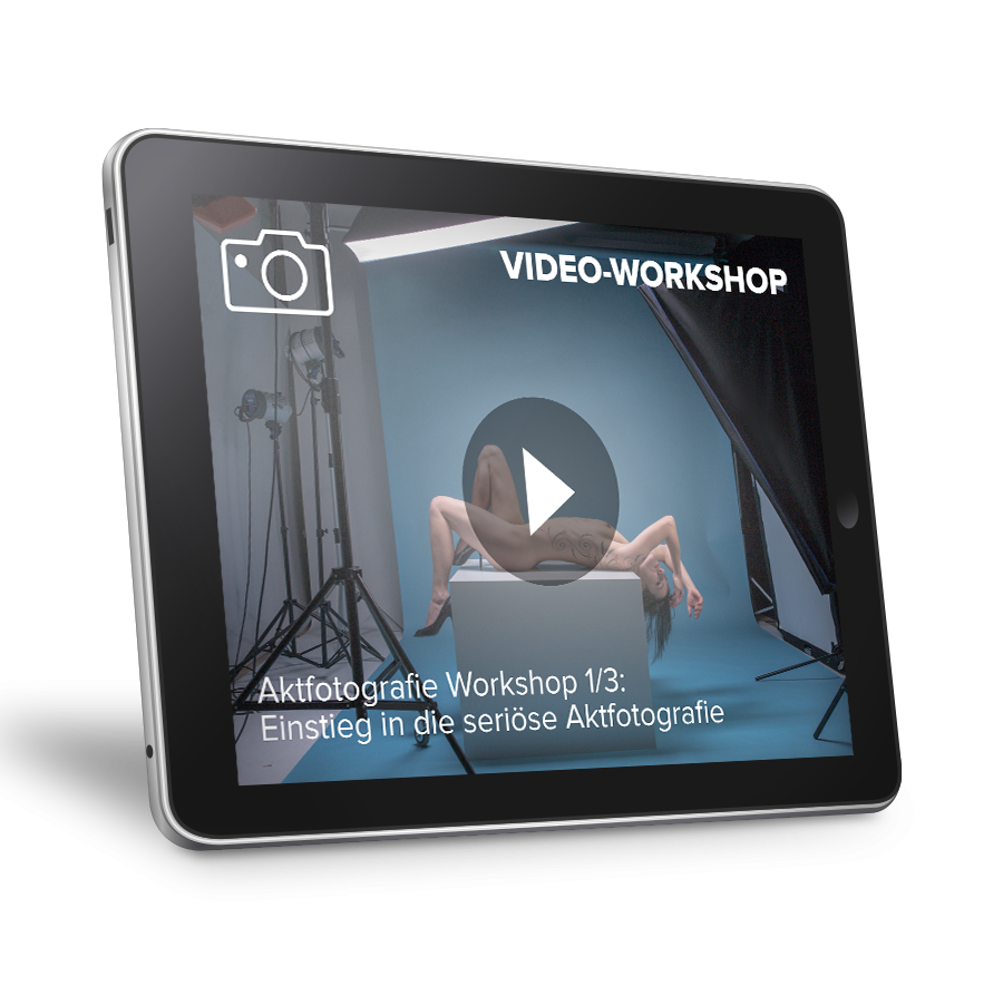 Video-Workshop: Aktfotografie 1/3 - Einstieg in...